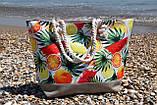 Сумка женская пляжная на молнии (Арт. NS1088/1)   1 шт., фото 2