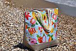 Сумка женская пляжная на молнии (Арт. NS1088/6) | 1 шт., фото 3