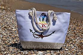Сумка женская пляжная на молнии (Арт. NS1088)   1 шт.