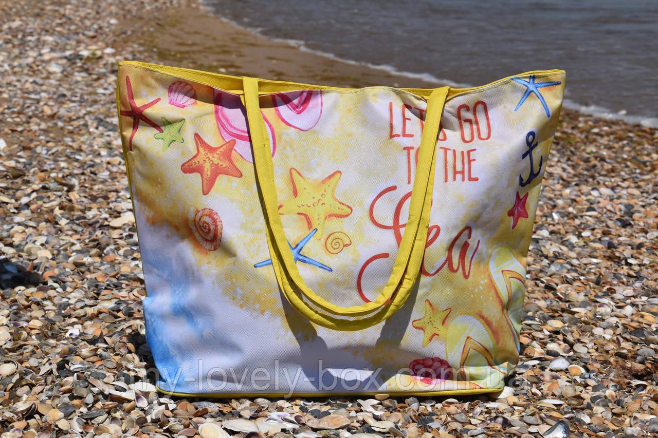 Сумка жіноча пляжна на блискавці (Арт. NS649/9)   1 шт.