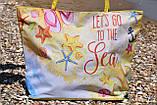 Сумка жіноча пляжна на блискавці (Арт. NS649/9)   1 шт., фото 2