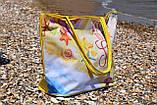 Сумка жіноча пляжна на блискавці (Арт. NS649/9)   1 шт., фото 3