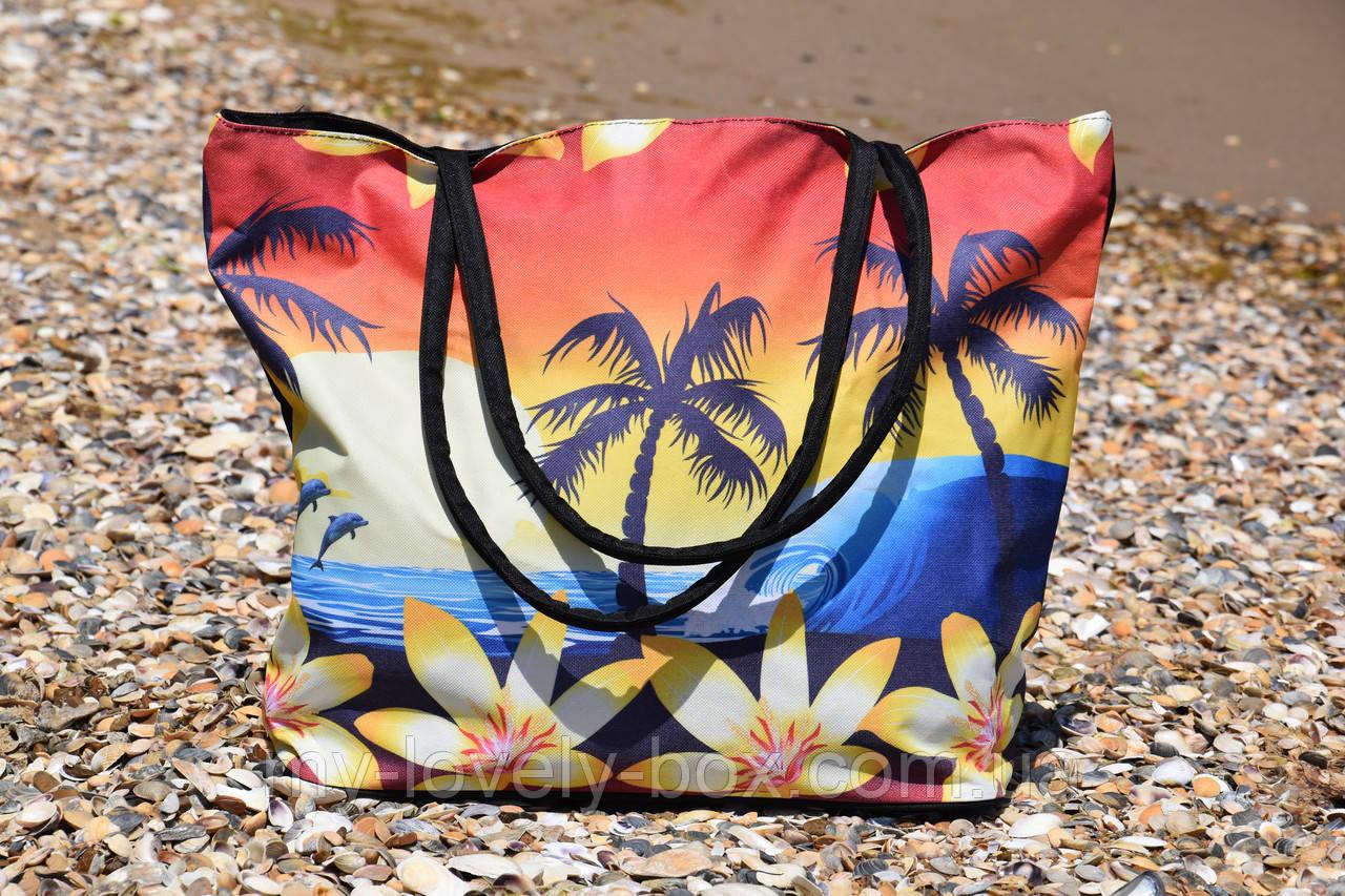 Сумка жіноча пляжна на блискавці (Арт. NS649/20) | 1 шт.