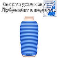 Мастурбатор чашка Ailighter Жорсткий Синій, фото 1