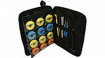 LeRoy EVA Spool - рибальська сумка органайзер для шпуль, гачків, лісок(Чорний), фото 3