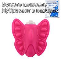 Вибратор для клитора Butterfly  Розовый, фото 1