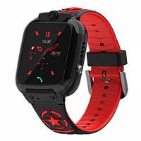 Детские Умные Смарт Часы Baby Smart Watch Ds60 С Gps Wi-Fi Черно-Красные