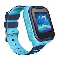 Детские Умные Смарт Часы c GPS Baby Smart Watch A36E Original 4G / Видеозвонок Синие