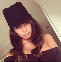 Шляпка женская оригинальная с ушками P148, фото 1