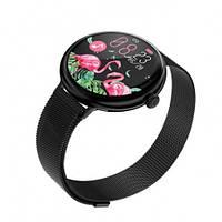 Умные Смарт Часы Supero Smart Watch Up9 С Тонометром Черные Сталь
