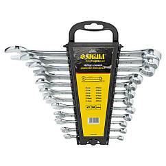 Ключи рожково-накидные 12шт 6-22мм CrV head polished SIGMA (6010201)