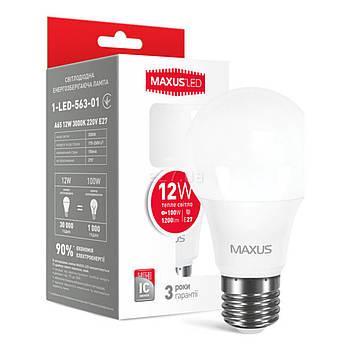 Лампа LED A65 12W 3000K 220V E27 AP (1-LED-563) (P)не исп. прав 417143