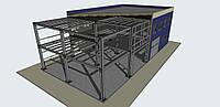 Быстровозводимые здания , строительство производственного комплекса под ключ