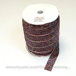 Стрічка репс 2.5 см, 23 м, № 04 Ніжно-рожева