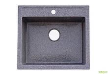 Мийка 5850, врізна гранітна (з отвором під змішувач) Platinum