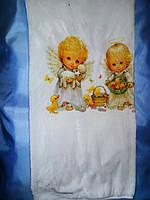 Детское махровое  одеяло для крещения