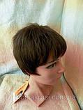 Перука коротка стрижка шоколадний CLOVE - 6, фото 3
