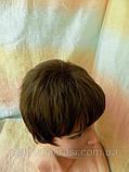 Перука коротка стрижка шоколадний CLOVE - 6, фото 4