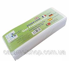 Полоски бумага для депиляции 100 шт., 7х20 см Uso Professionale