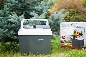 Переносной автомобильный холодильник с подогревом Royalty Line RL-CB24G 25 литров