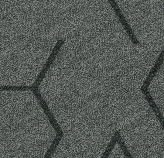Ковролин в планках Flotex triad 131007 steel