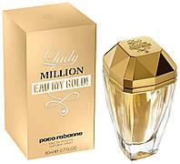 Женская туалетная вода Paco Rabanne Lady Million Eau My Gold 80ml парфюм духи Пако Рабан Леди Миллион Голд