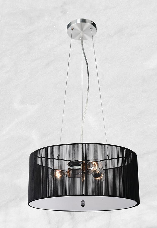 Люстра 20-P80201-4 (чёрный)