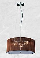 Люстра 20-P80201-4 (коричневый)