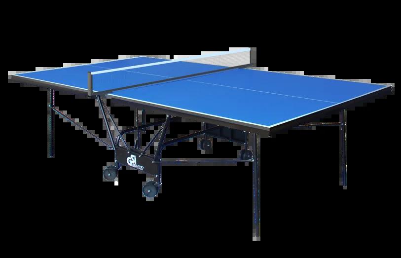 Теннисный стол складной для закрытых помещений GSI Sport Compact Premium Синий