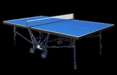 Теннисный стол складной для закрытых помещений GSI Sport Compact Premium Синий, фото 2