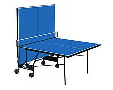Теннисный стол складной для закрытых помещений GSI Sport Compact Premium Синий, фото 3