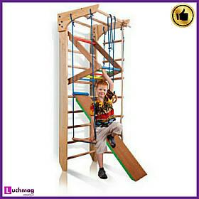 Спортивный деревянный уголок «Kinder 3-220» ТМ SportBaby для детей от 6 лет