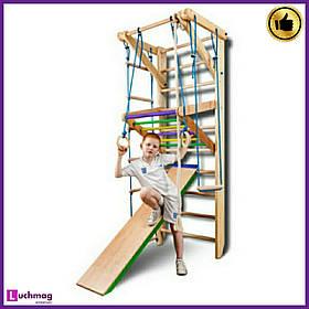 Спортивный деревянный уголок «Sport 3-220» ТМ SportBaby для детей от 6 лет