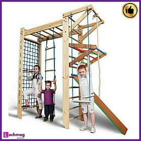 Детский деревянный уголок «П-образный Sport 5-240» ТМ Sportbaby для детей от 6 лет