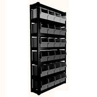 Стеллаж под 700 ящики (черные)
