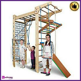 Детский деревянный уголок «П-образный Kinder 5-240» ТМ SportBaby для детей от 6 лет