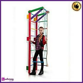 Спортивный деревянный цветной уголок Teenager-2-220 (barby) ТМ SportBaby для детей от 6 лет