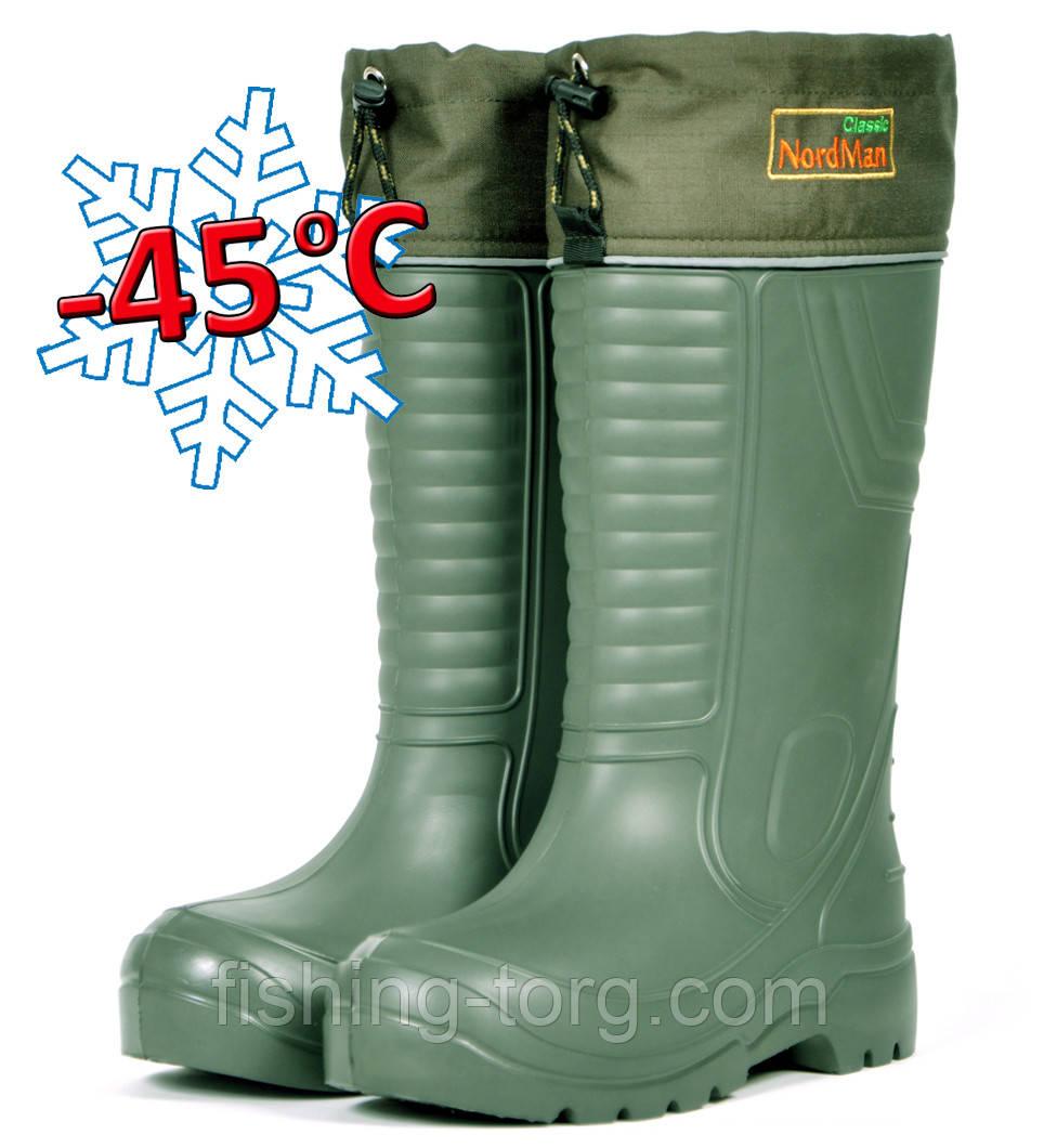 Сапоги  зимние -45 ПЕ-15 УММ (Nordman Classic) размер: 43/44