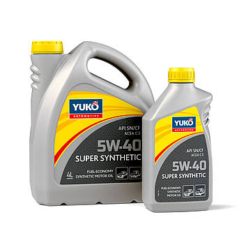 Моторное масло Yuko Super Synthetic 5w40