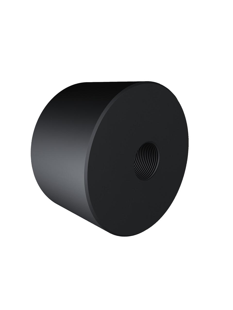 ODF-06-25-21-L25 Дистанція 25 мм для коннектора діаметром 40 мм з різьбою М8, чорна