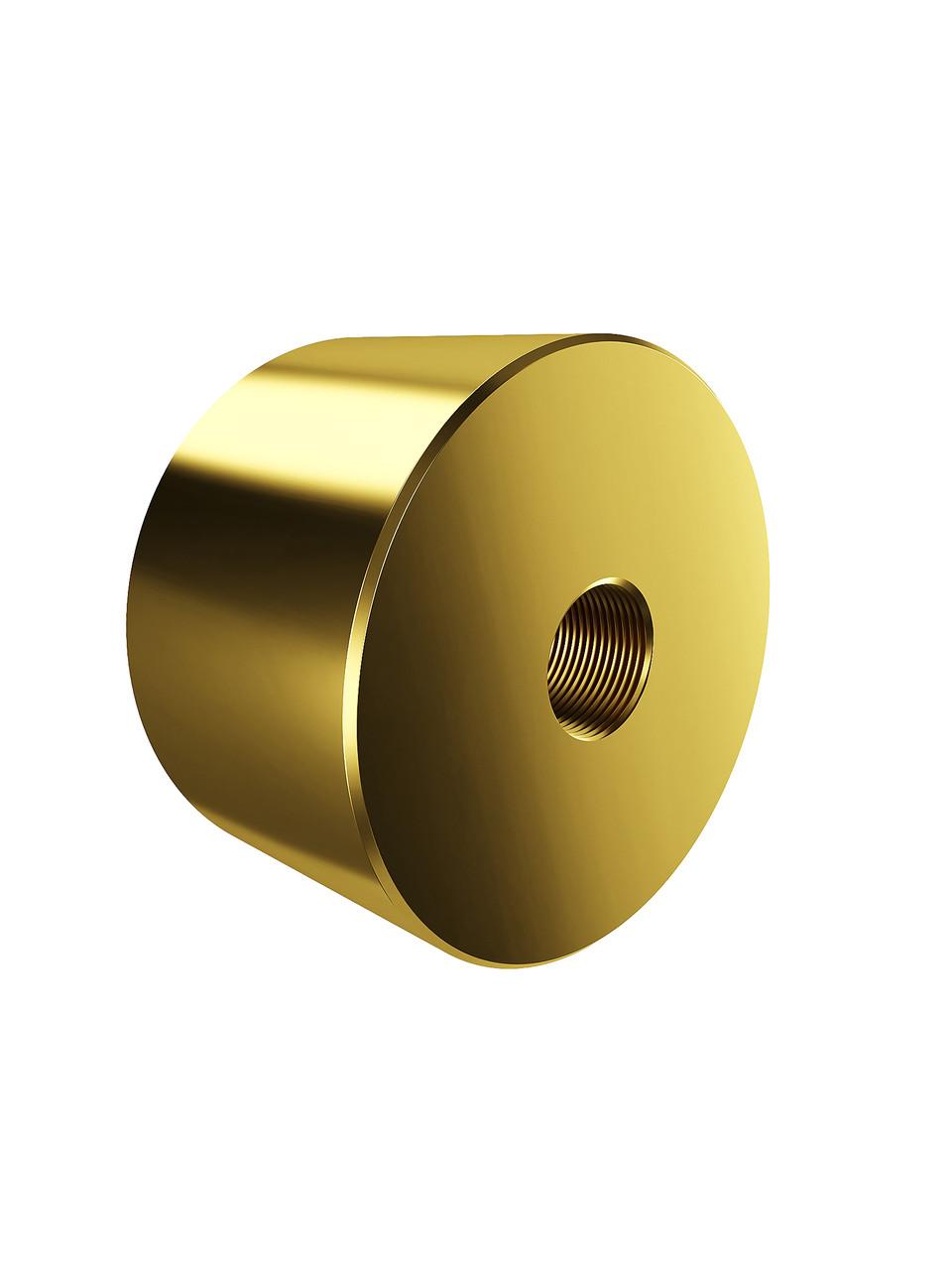 ODF-06-26-10-L25 Дистанція 25 мм для коннектора діаметром 40 мм з різьбою М10, колір золото