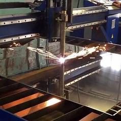 Плазменная резка металла 1 мм*