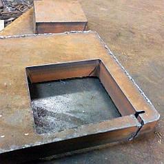 Плазменная резка металла 20 мм*