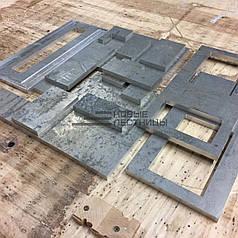 Фрезерування алюмінію, дюран, міді і латуні 1,5 мм-50мм