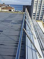 Огородження з нержавіючої сталі біля моря, фото 3