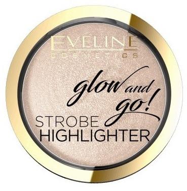 Хайлайтер для обличчя Eveline Cosmetics Glow and Go! Strobe Highlighter №01 Champagne 8,5 г