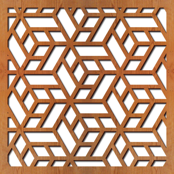 2D Панель. Кубик в кубе