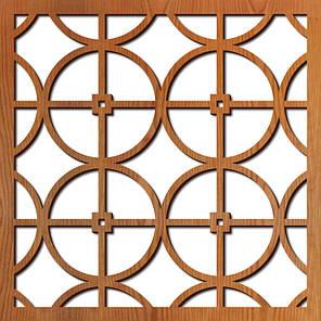 2D Панель. Круги - смуги - перехрестя, фото 2