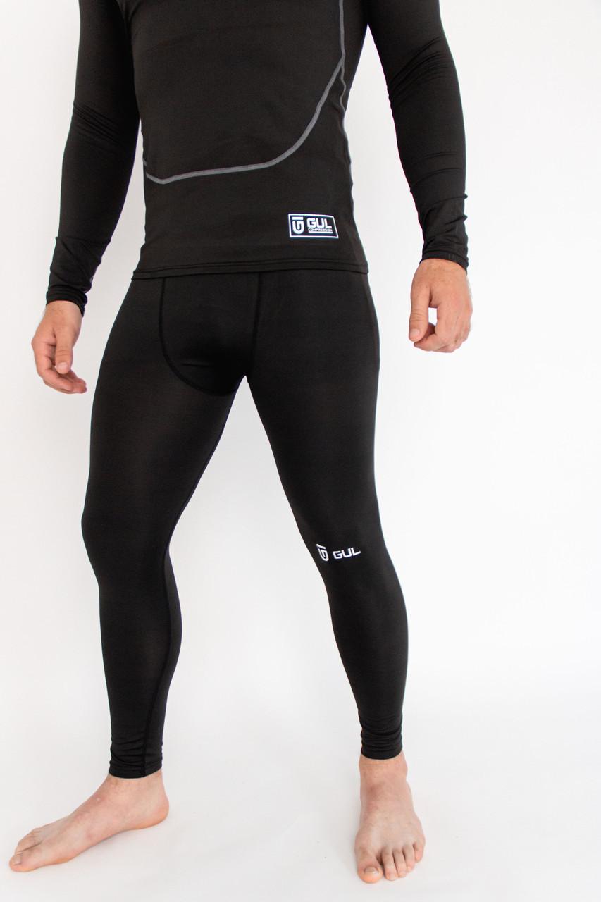 Компресійні Термо-штани GUL чоловічі компресійні штани для спорту підштаники термобілизна термо кальсони