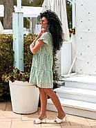 Жіноче плаття з прошви на підкладці, короткий рукав, 00896 (Олівковий), Розмір 44 (M), фото 3